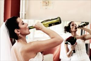 Wedding drama stress