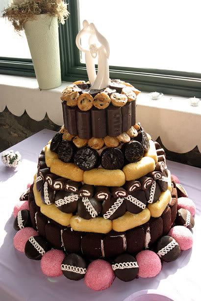 Redneck Twinkie Wedding Cake
